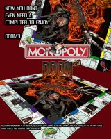 doom 3 monopoly by R-Clifford