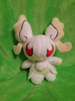 Mega Audino Palm Plush by GlacideaDay
