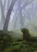 Foggy Forest by polles