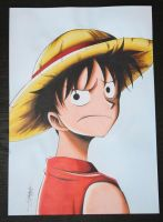 Monkey D. Luffy by InlineSpeedSkater