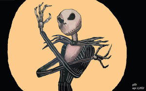 jack the skeleton by gilly15