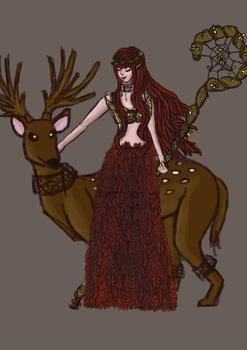 [CONTEST ENTRY] Autumn Forest Elf by Chimezombie