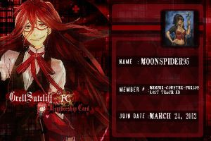 Grell Sutcliff Fanclub ID by MoonSpider95