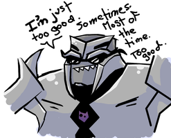 You Tell 'em Megs by caboosemcgrief