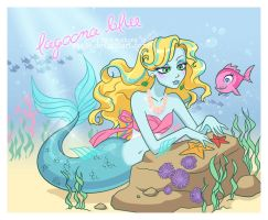 Mermaid Blue by arcuate