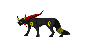 Susan the Umbreon ( Dead character ) by FeralAsar
