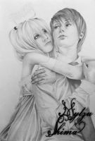 Misa and Light by Maju17