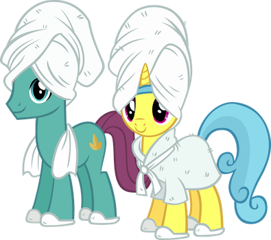 Autumn and Lemon in the Spa by IronM17