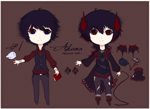 Akuma Reference Sheet by mauuchi