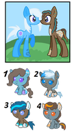 Shelly and Bucket Fill foals (CLOSED) by Ivon-Cheetah