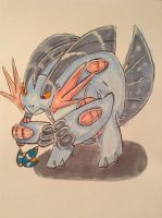 Mega Swampert by Duel-King-Altas