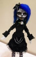 Gothic Zombie Ghoulia by mourningwake-press