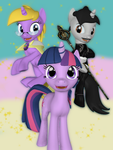 Twilight with her students (Gmod version) by Neros1990