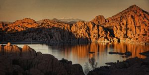 Shadows of the Setting Sun pano by papatheo