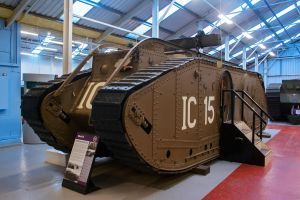 Mark IX Tank by Daniel-Wales-Images