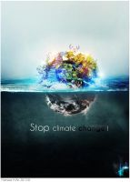 Earth : Stop climate change ! by H-4rt