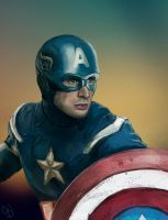 Captain America by christmasevedeer by christmasevedeer