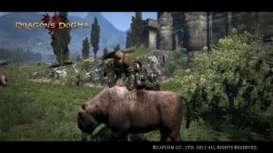 Dragon's Dogma - Ride my Valiant Steed! by DarkStarAngelo