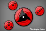 Sharingan Icons by Kshegzyaj