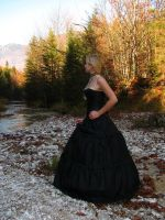 Black Dress 8 by Kuoma-stock