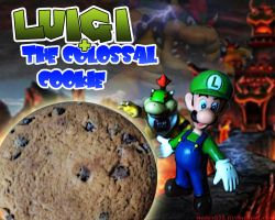 Luigi and the colossal cookie! by Harvy355