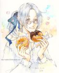 Abel and doughnut by solalis1226
