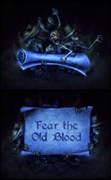 Bloodborne Messengers - Wallpaper and Template DL by sohlol