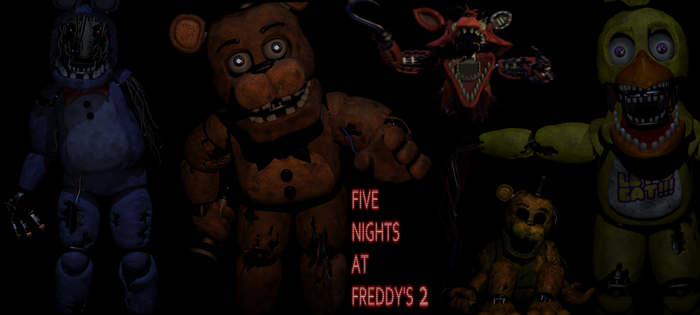 Five nights at Freddy's 2 Old Wallpaper by Elsa-Shadow