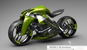 street bike design by konkon49