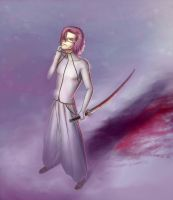 Bleach - The pink snow [The Pink Winter contest] by unhlyghst