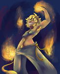 Playing With Fire Redraw by DerCouch