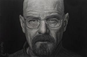 Bryan Cranston at breaking bad by MagedRock