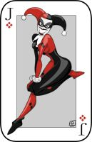 Joker card by e4animation