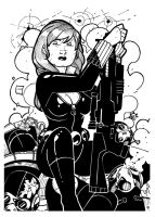 WARM UP - Black Widow by Aerion-the-Faithful