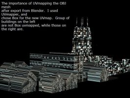 Importance of UVmapping by ibr-remote