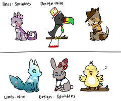 Adopts by starlightzs