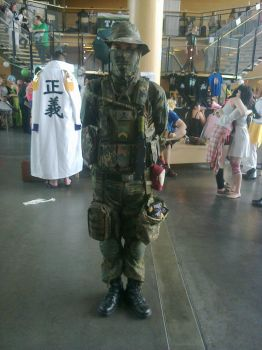 Desucon 2014 - Military personnel by FinnishLegend