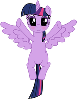 Princess Twilight is going to hug you by transparentpony
