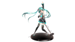 Miku Figurine 2 by Jordiya