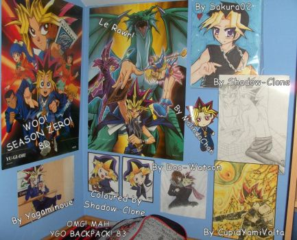 Lets make a Yami wall XD by Bayleef-