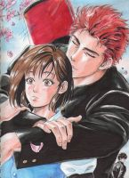 Hanamichi y Haruko love by ClAyMoRe--MiRiA