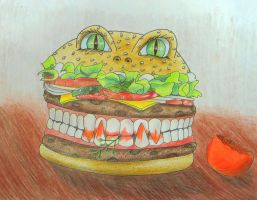 Angry whopper by Niakien
