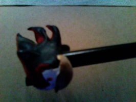 Shadow Pencil Topper: Angle by hobfrog07