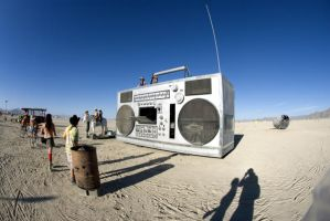 Boom Box by merzlak