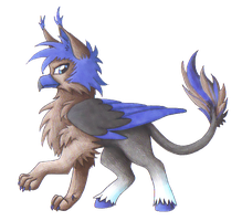 Hippogryph Commish for Squeno by TripperWitch