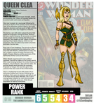 Wonder Woman TAS - Queen Clea Redesign Profile by Femmes-Fatales