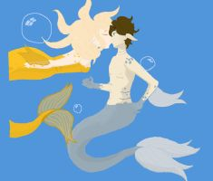 Mermaids! by PuzzleLeafs
