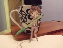 Tiny Ryan Paperchild by TheLoneWeegee