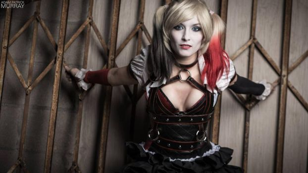 Arkham Knight Harley Quinn Close Up by MaiseDesigns