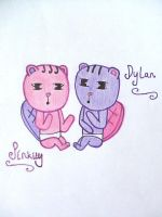 Pinkity and Dylan by J44